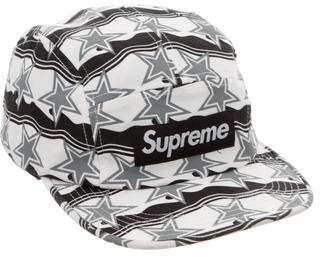 Supreme Star Print Box Logo Cap