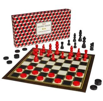 Wild & Wolf Games Room - Chess & Checkers