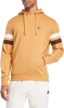 Fila Stripe Sleeve Fleece Hoodie