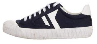 Celine Plimsole Canvas Sneaker Navy Plimsole Canvas Sneaker