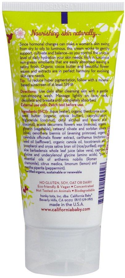 California Baby Natural Pregnancy Nourishing Cream-2.9 oz.