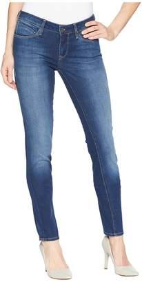 Mavi Jeans Adriana in Super Skinny Indigo/Gold Feather Women's Jeans