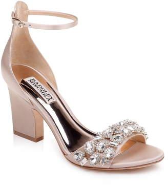 858fbe0e654 Badgley Mischka Collection Laraine Embellished Ankle Strap Sandal