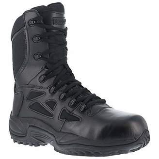 "Reebok Work Men's Rapid Response RB 8"" Comp Toe Boot 15 E - Wide"