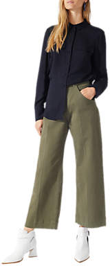 Jigsaw Casual Utility Shirt, Navy