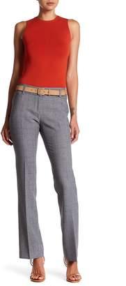 Amanda & Chelsea Straight Leg Grid Print Pants