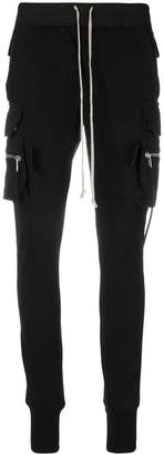 Rick Owens cargo jogging trousers