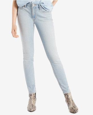 Levi's® 711 Skinny Jeans $54.50 thestylecure.com