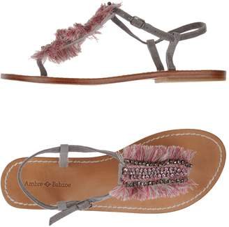 Ambre Babzoe Toe strap sandals - Item 11119005PB