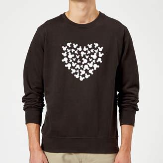 Disney Mickey Mouse Heart Silhouette Sweatshirt