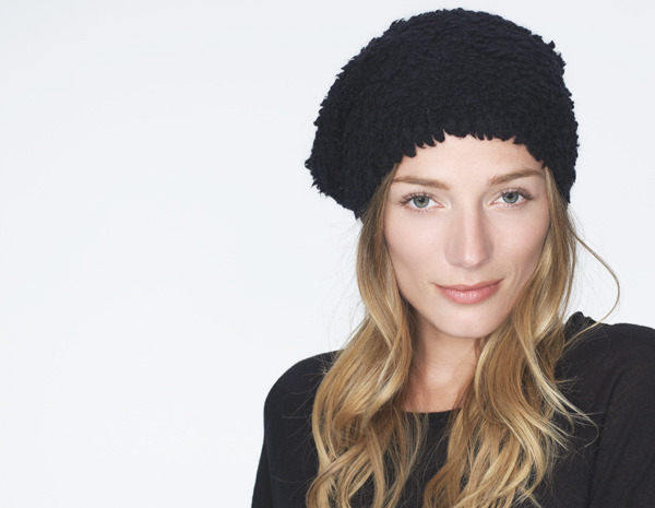 James Perse Shearling Beanie