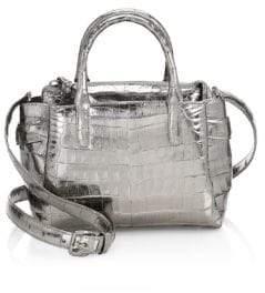 Nancy Gonzalez Small Christie Convertible Leather Satchel