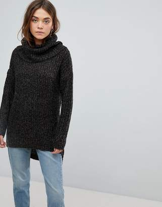 Only Roll Neck Chunky Tunic