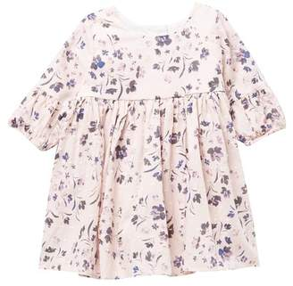 Pippa Pastourelle by and Julie Floral Bell Sleeve Dress (Baby Girls)