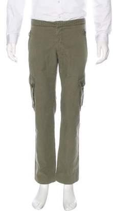 Alexander McQueen Flat Front Cargo Pants