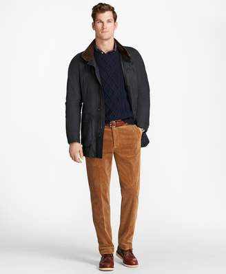 Brooks Brothers Waxed Cotton Country Coat