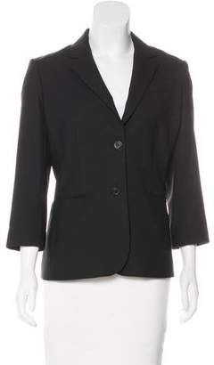 The Row Fitted Virgin Wool Blazer