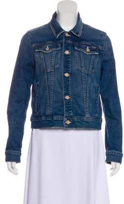 Mother Cropped Denim Jacket