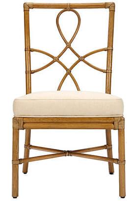 Selamat Olympia Rattan Side Chair - Nutmeg