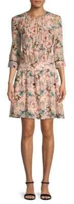 Zadig & Voltaire Remus Tattoo Silk Day Dress