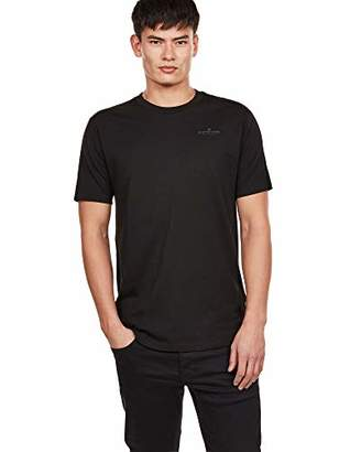 G Star Men's Korpaz Graphic T-Shirt dk Black 6484, Mediu