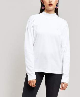 Acne Studios Nash Face Patch Long-Sleeve T-Shirt