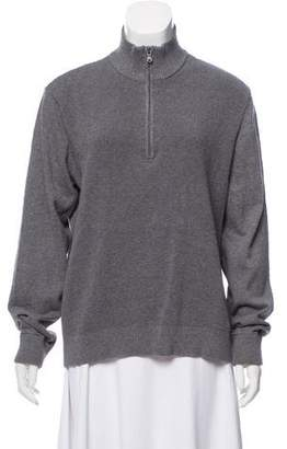 MICHAEL Michael Kors Zip-Up Knit Sweater