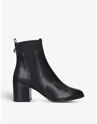 Tod's Tods T-gusset leather Chelsea boots