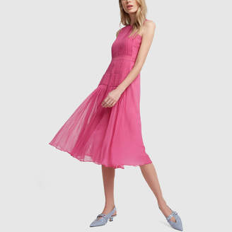 No.21 No. 21 Pleated Chiffon Dress