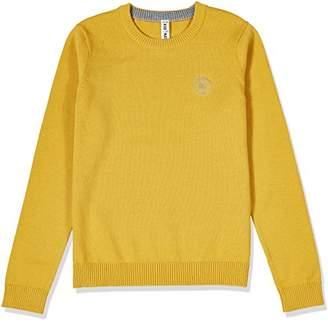 Kid Nation Kids' Crewneck Long-Sleeve Pullover Sweater