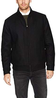 Andrew Marc Men's Barlow Melton Wool Bomber Jacket