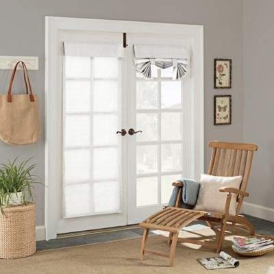 Parasol Key Largo 68-Inch Grommet Indoor/Outdoor French Door Panel in White