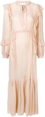 Semi-Couture Semicouture Florence ruffle long dress