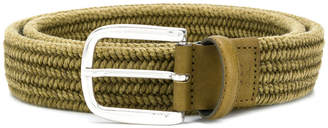 Corneliani classic buckled belt