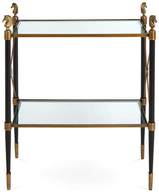 Jonathan Adler RIDER TWO TIER SIDE TABLE