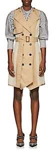 Derek Lam 10 Crosby Women's Cotton Twill Trench Dress - Beige, Khaki