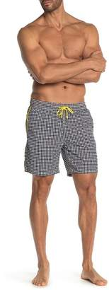 2e3b66f176 Mr.Swim Mr. Swim Houndstooth Volley Trunk