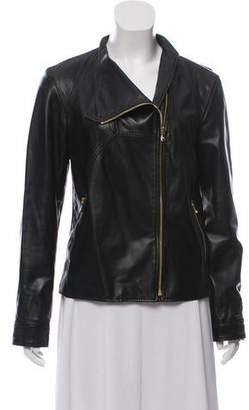 Derek Lam Zip-Up Leather Jacket