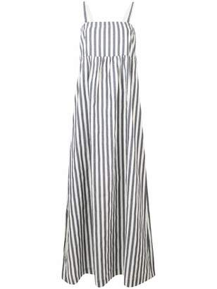 Semi-Couture Semicouture striped maxi dress
