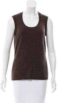 Magaschoni Sleeveless Cashmere Sweater