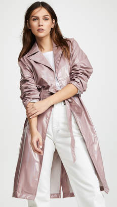 Rains Holographic Overcoat