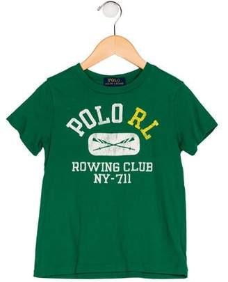 Polo Ralph Lauren Boys' Graphic Print Shirt