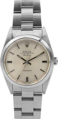 Rolex Pre-Owned Men's 34mm Air-King Bracelet Watch