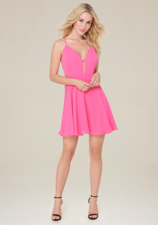 Lily Crossback Skater Dress