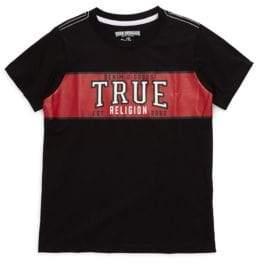 True Religion Boy's Cotton Short Sleeve Tee