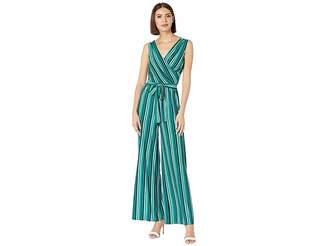 be304f6e83f6 Donna Morgan Striped Jersey Jumpsuit