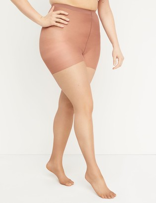 Lane Bryant Smoothing Tights - Shimmer Sheer