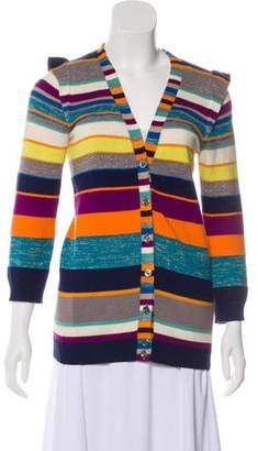 Marc by Marc Jacobs Colorful V-neck Cardigan
