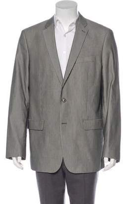 John Varvatos Striped Two-Button Blazer