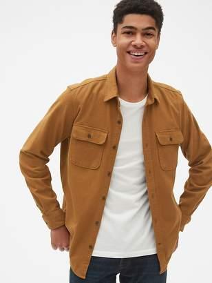 Gap Moleskin Shirt Jacket